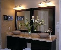 dual sink vanity. Dual Sink Vanity Floating Double With Framed Mirror Granite Sinks And .