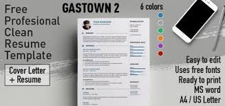 Edit Resume For Free Gastown2 Free Professional Resume Template