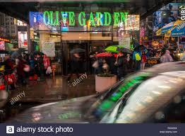 an olive garden restaurant in times square in new york is seen on friday december