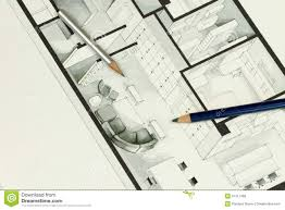 simple architecture design drawing. Couple Of Sharp Pencils Put On Simple But Elegant Grey Interior Design Architecture Drawing I