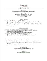 Musician Resume Template | Resume Format Download Pdf