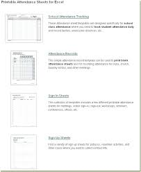 Employee Attendance Sheet In Excel For Office Printable Attendance Sheet Daily Record Excel Template Templates