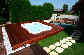 outdoor landscaping ideas. Outdoor Spa Landscaping Ideas Image And Description A