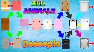 Deeeep Io Animal Tree Deeeep Io Unblocked Play