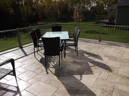 what are the famous travertine pavers