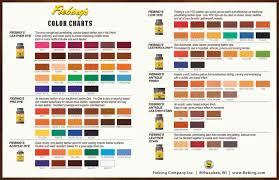 2016 color chart print