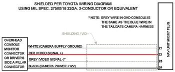 toyota backup camera wiring diagram toyota image reverse camera wiring diagram wiring diagram schematics on toyota backup camera wiring diagram