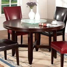 table with lazy susan built in best tables with built in lazy images on within round table with lazy susan