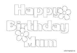 black and white birthday cards printable happy birthday card print out birthday cards coloring pages coloring