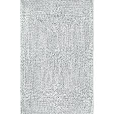 gray indoor outdoor rug hand braided gray indoor outdoor area rug samson grey indoor outdoor rug