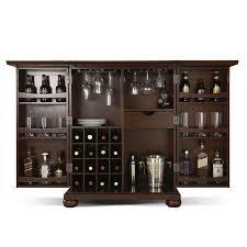 renzo bar cabinet mahogany
