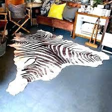 animal skin rugs south zebra for real rug skins nz