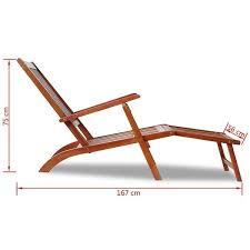vidaXL <b>Solid</b> Acacia Wood Garden <b>Adirondack Chair</b> with Footrest ...