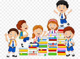 book child reading ilration books and student