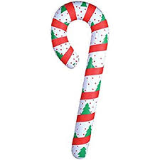 How To Decorate A Candy Cane For Christmas Amazon New Festive Inflatable Candy Cane Christmas Decoration 18