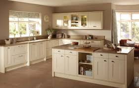 painted kitchen cabinets vintage cream: image of antique cream kitchen cabinets what colour walls