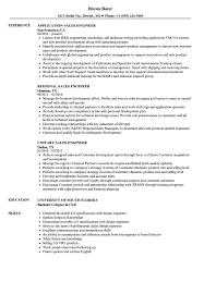 Engineer Sales Resume Samples Velvet Jobs