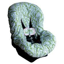 ritzy baby avocado damask car seat cover