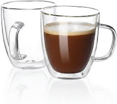 Free delivery on your first order shipped by amazon more buying choices£13.44(2 used & new offers) 20 oz / 600ml large coffee mugs, smilatte m007 plain tall ceramic cup with handle for dad men, set of 2, white 4.6 out of 5 stars425 Amazon Com Sweese 414 101 Large Glass Coffee Mugs 16 Oz Double Walled Insulated Mugs With Handle Perfect For Latte Americano Cappuccinos Tea Bag Beverage Set Of 2 Coffee Cups Mugs