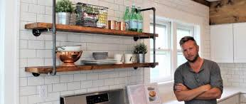 Creative diy pipe shelves design ideas Furniture Blend The Idea Of Rustic And Industrial In One Single Unit With These Farmhouse Pipe Shelves Men Lady The Farmhouse Pipe Shelves Easy Diy Project