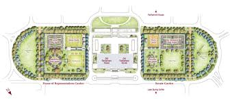 map of the gardens courtesy of national capital authority