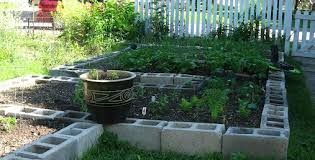 gardening in a concrete block garden offers all of these benefits with the additional perk that concrete blocks will not deteriorate like wood beds will