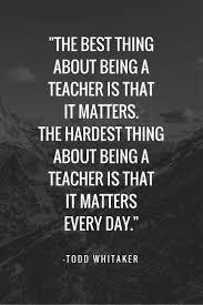 Famous Teacher Quotes Inspirational