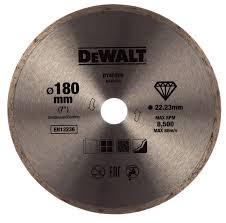 <b>Алмазный круг сплошной по</b> керамике 180х22.2 мм DEWALT ...