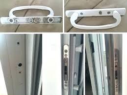 patio door mortise lock sliding door mortise deadbolt lock set sliding glass