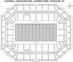 Syracuse Football Dome Seating Chart Syracuse Orange 2017 Football Schedule