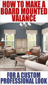 diy valances for living room. how to make a board mounted valance diy valances for living room c