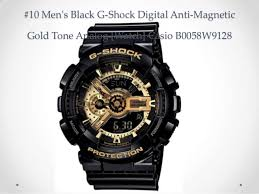 top 10 casio watches reviews best g shock black watches for men 2014 10 men s