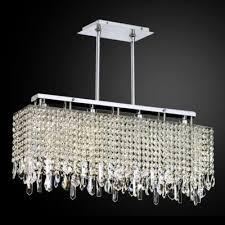 modern linear crystal chandelier innovations 592