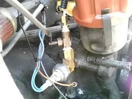 metric tee installed for oil pressure gauge on air cooled vw vdo oil pressure gauge wiring diagram at Vw Oil Pressure Gauge Electric Wiring