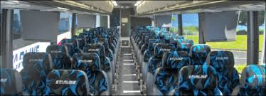 Coach Bus Seating Chart 61 Passenger Charter Bus United Coachways