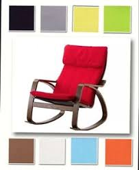 Image is loading Custom-Made-Armchair-Cover-Fits-IKEA-Poang-Chair-