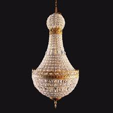 french express empire crystal chandelier lighting fixture for foyer hallway