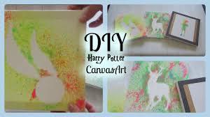 diy harry potter canvas designs i harry potter home decor wall art you