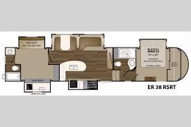 heartland elkridge 38rsrt fifth wheel bunkhouse floorplan