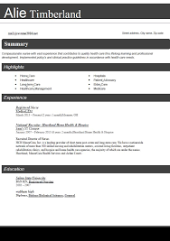 Impressive Resume Format Adorable Best Resume Format Registered Nurse Traditional Photo Gallery