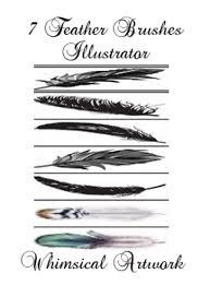 7 Illustrator Feather Brushes Free Photoshop Brushes At Brusheezy