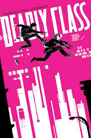 Deadly Class #3. Cover by Wesley Craig and Lee Loughridge.   Class comics,  Comic book covers, Best comic books