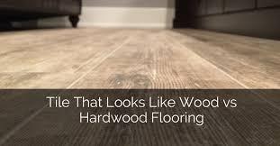 wood vs hardwood flooring