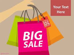 Sell Powerpoint Templates Big Shopping Sale Powerpoint Template Powerpoint Templates For Sale
