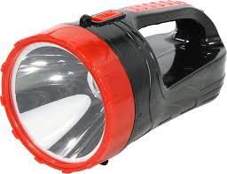 <b>Аккумуляторный фонарь</b>-прожектор 2в1 <b>3W</b>+<b>6</b> SMD, черный ...