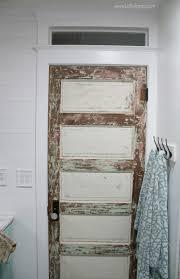 vintage bathroom doors. Beautiful Doors Love This 100 Year Old Vintage Bathroom Door With Pretty Farmhouse Decor  Lots Of Inexpensive Inside Vintage Bathroom Doors