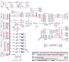 arduino motor shield embedded system laboratory schematic diagram for motor shield click on the image for larger view