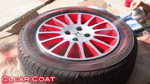 easy way to customize wheels with spray paint 2 tone finish on civic stock wheels you