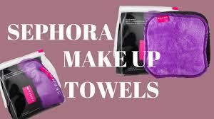 sephora makeup remover towels review