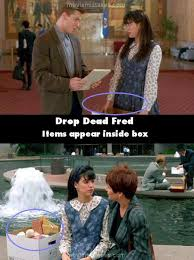 Fred The Movie Quotes Mesmerizing Drop Dead Fred 48 Movie Mistake Picture ID 48
